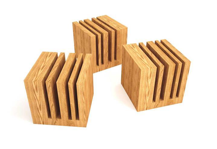I massivi itlas design interni ferrara parma - Oggetti di design in legno ...